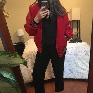 Jackets & Blazers - Retro Letterman Jacket